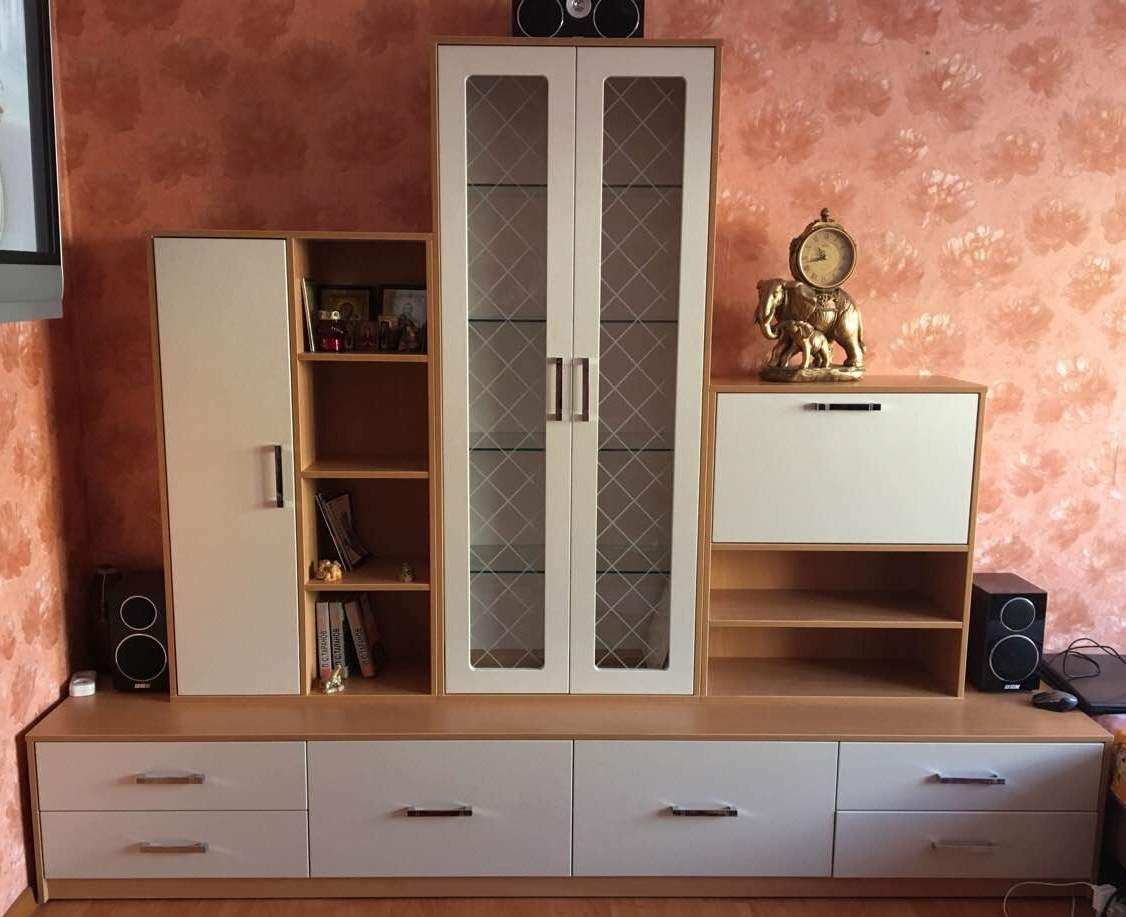 Мебель для гостиной с фасадами МДФ на заказ