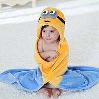 Плед-полотенце с капюшоном Миньон