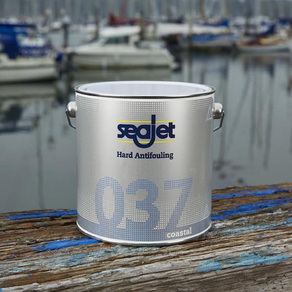 Антиобростайка для катера голубая 0,75 литра Seajet 037 coastal