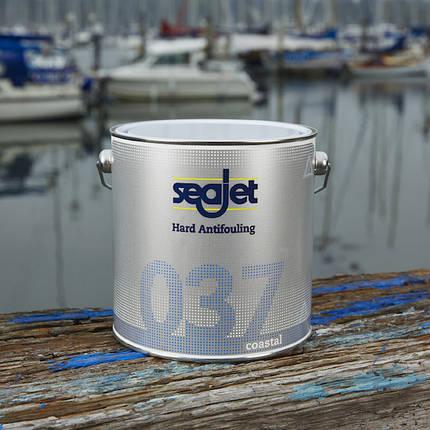 Антиобростайка для катера голубая 0,75 литра Seajet 037 coastal, фото 2