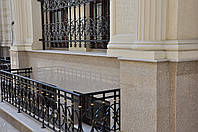 Облицовка фасада гранитом, фото 1