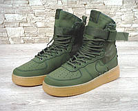 Кроссовки Nike Special Field SF Air Force 1 Green мужские