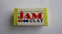 """Запекаемая полимерная глина (пластика) Желтый Jam Clay,20гр.Пластика запекаемая Jam Clay """"Лимон"""".Полимерная гл"""