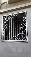 """Кованая защитная решетка на окна и двери. Возможно с доставкой и установкой, покраска супер эмалью """"Alpina""""."""