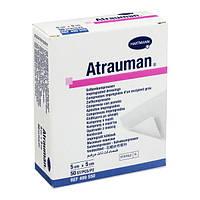 Hartmann Atrauman мазевая повязка, атравматическая, стерильная, 5 х 5 см