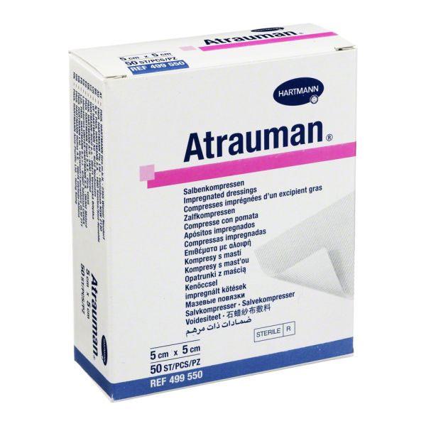 Hartmann Atrauman мазевая повязка, атравматическая, стерильная, 5 х 5 см - Medort - Ортопедическая продукция, товары для здоровья в Киеве