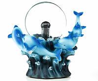 Светильник Плазменный шар Дельфины