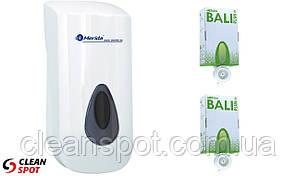 Дозатор мыла-пены Top + 2 картриджа мыла-пены Bali Plus