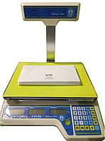 Весы торговые Vagar VP-M-6/15-LCD, до 15 кг (двухдиапазонные)