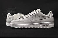 Кроссовки женские Nike Air Force 1 (натур кожа)