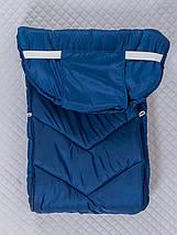 Конверт на санки і коляску, зимовий, фото 3
