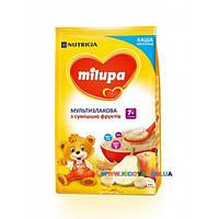 Каша молочная Milupa мультизлаковая со смесью фруктов (с 7 мес) 210 гр.