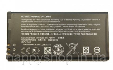 Оригинальная батарея Nokia Lumia 550 (Microsoft) (BL-T5A), фото 2