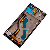 Дисплей (LCD) Lenovo Vibe X2 с сенсором (тачскрином) и рамкой Black Original