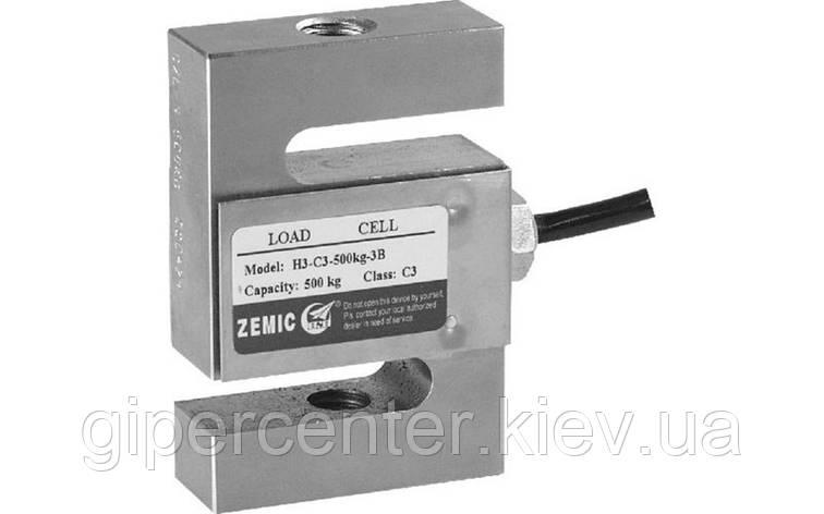 S-образный тензодатчик Zemic H3-C3-20t-6B до 20000 кг (сталь c никелевым покрытием), фото 2