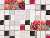 Обои на стену, виниловые на кухню,B49.4 Медовый 5560-10,супер-мойка, 0,53*10м