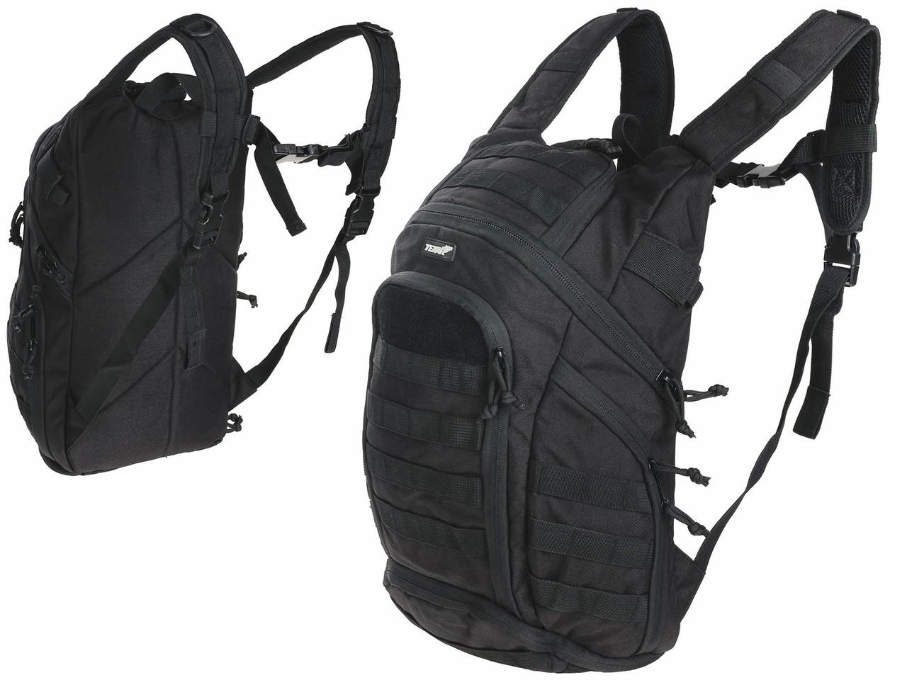 3c32d95110c8 Тактический рюкзак TEXAR COBER BACKPACK 20-40L черный - ПП