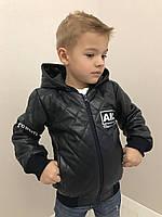 Кожанные куртки для мальчиков 341