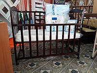 Кровать детская Зайченок венге
