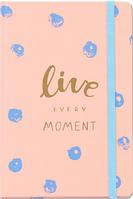 Блокнот Live every moment Orner Проживай каждый момент 210х140 мм 192 стр набор открыток на резинке
