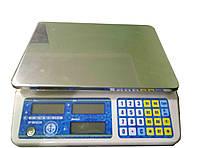 Весы торговые Vagar VP-MN-15-LCD, до 15 кг.