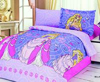 Комплект постельного белья  le vele сатин размер полуторный bellini