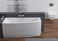 Ванна акриловая Aquaform Arcline 150х70х42 асимметричная