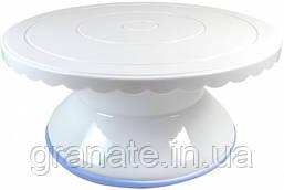 Подставка для торта, тортовница вращающиеся 280*120 мм