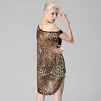 Женская блузка с леопардовым принтом