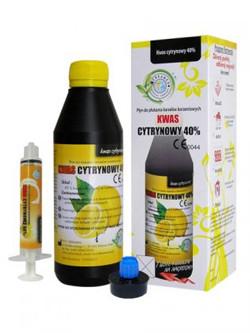 Кислота лимонная 40% (CITRIC ACID) 200 мл.