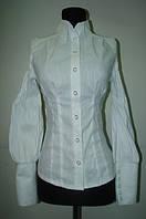 Блузка женская белая Р01