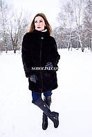 Шуба норковая, аукционный мех, 80см. Сделана в Украине.