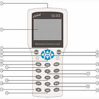 Пульт ДУ ASL02 для ALTEK  ASL1524LD-10A