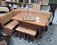 Кухонный уголок с раскладным столом Барон