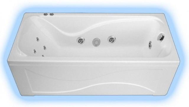 Прямоугольные акриловые ванны Тритон