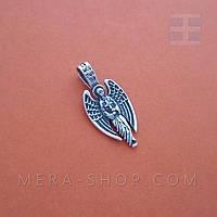 Ангел Хранитель серебряный оберег