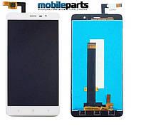 Оригинальный Дисплей (Модуль) + Сенсор (Тачскрин) для Xiaomi RedMi Note 4 (Белый)