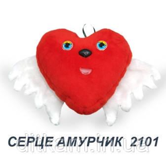 Мягкая игрушка Сердце Амурчик (30х30см)