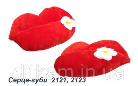 Мягкая игрушка Сердце-Губки (35см)