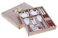 """Набор для суши """"Равновесие"""", 10 предметов, цвет красный"""
