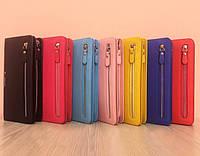 Клатч-кошелек Baellerry Italia Classic (нежный зефир) + сережки в подарок