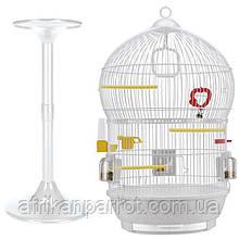 Клетка для птиц (Ferplast BALI) белая.