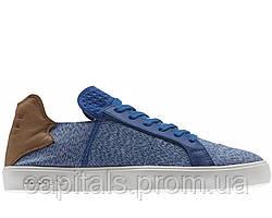 "Мужские кроссовки-кеды Pharrell Williams x Adidas Elastic Lace ""Blue/Cream"""