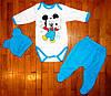 Детский костюм для новорожденных Микки 62/74 рр