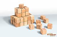 Кубики деревянные 4 × 4 (20 шт)