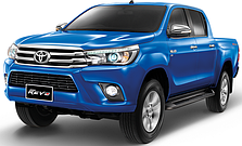 Фаркопы на Toyota Hilux (c 2015--)