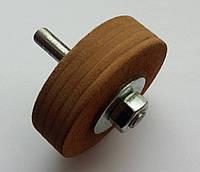 Кожаный круг для доводки и правки инструмента 70мм