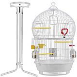 Клітка для птахів (Ferplast BALI) біла., фото 2