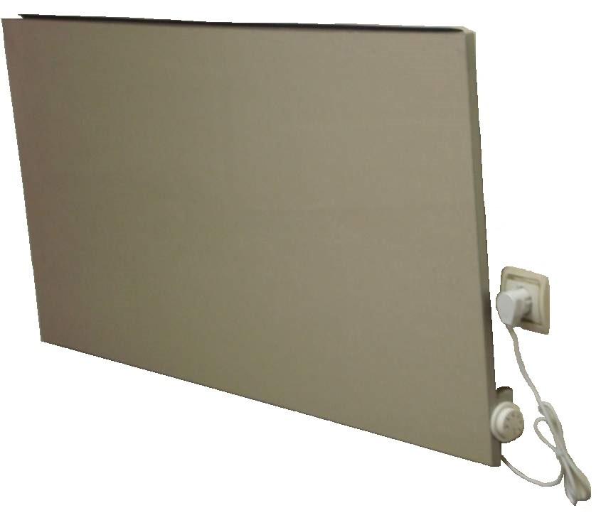 Керамическая нагревательная панель ПКК 700 Вт (60х60см) + мех.термостат
