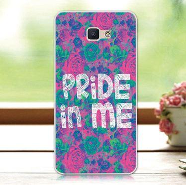 Ексклюзивний бампер з принтом для Samsung Galaxy J7 Prime G610 Pride in me